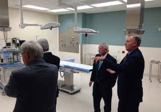 Sen. Wicker at the Olive Branch Hospital opening